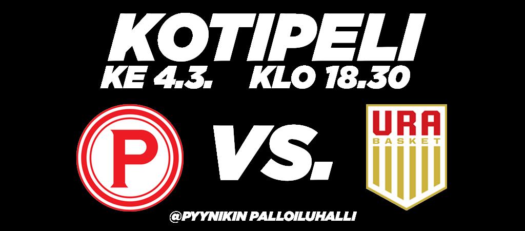 Pyrintö_kotipeli_slider_UraBasket_04-03-2020